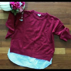 Umgee Tops - NWOT Boutique Shirttail SweaterSize M fits like lg